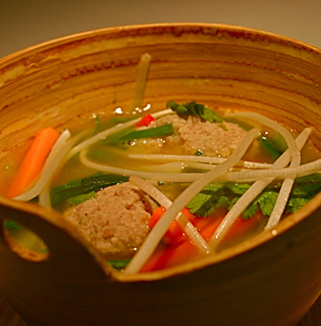 03_Pork Ball & Vegetable Soup