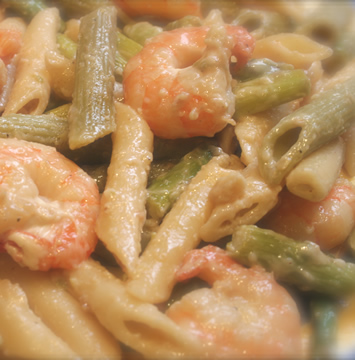 05_Shrimp & Pasta Stir-fry